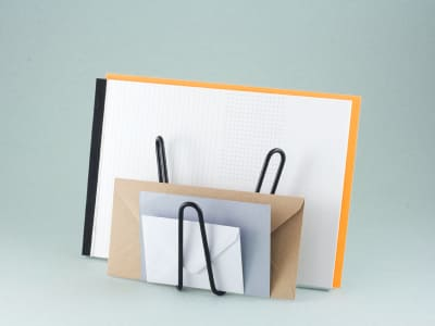 Mww Letter/Document Holder Black