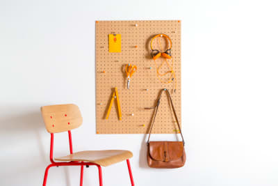 Natural Pegboard Large Natural Pegboard