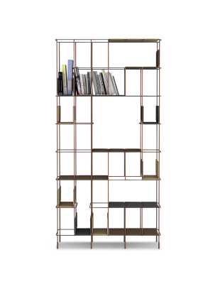 Network Bookshelf anthracite, A2593 - Extrema/AU 2250 black