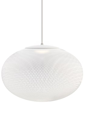NR2 Pendant Light Medium White