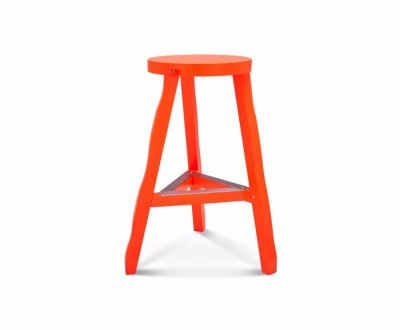 Offcut High Stool Fluoro