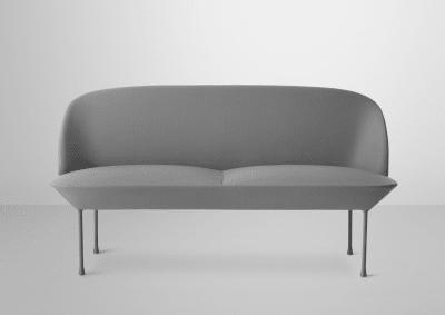 Oslo Sofa - 2 Seater Skai Parotega NF amethyst