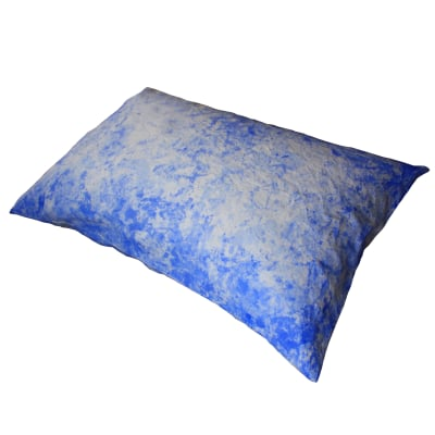 Painted Cushion –Ultramarine