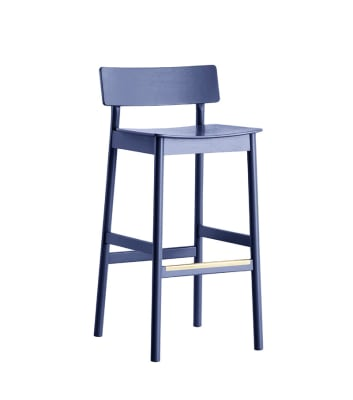 Pause counter chair Dark blue