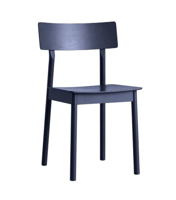 Pause dining chair - set of 2 Dark blue