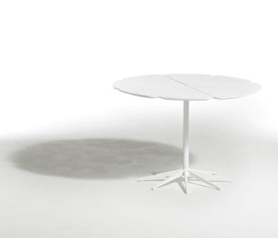 Petal Dining Table - 107x71 71H x 107 D cm