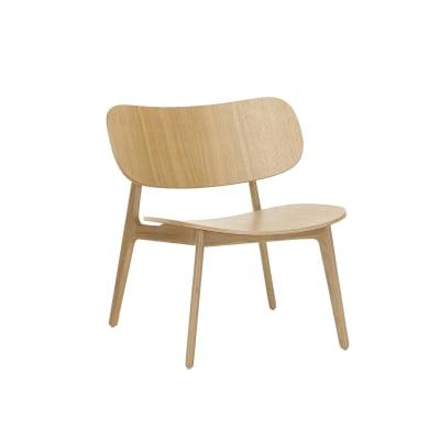 PLC Lounge Chair New, Oak
