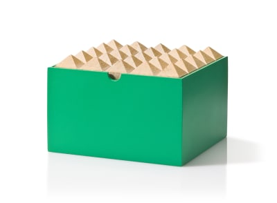 Pyramid Medium Box Green