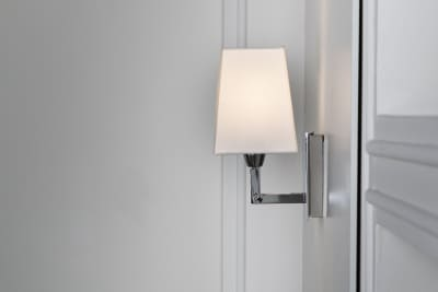 Quadra Mini Wall Light  IP44 Chrome