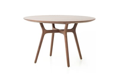 Rén Round Dining Table C1100 Walnut