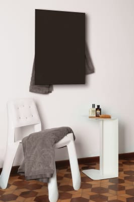 Rectangle Towel Warmer Black