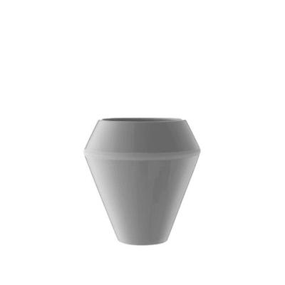 Rimm Vase, Tall - Set of 2 Cool Grey