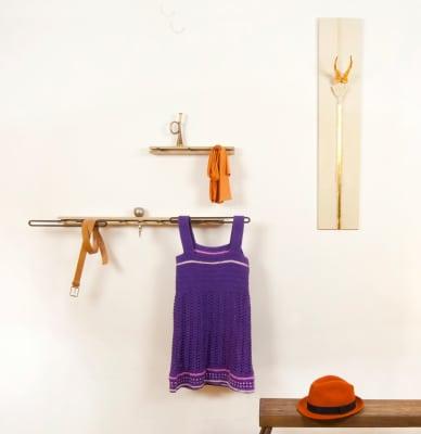 Robok Shelf 40cm Long, 3 Hooks