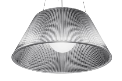 Romeo S Pendant Light Moon S2, Glass, Clear, Large