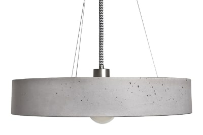 Rota Concrete Pendant Light 200 cm Cable Length