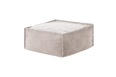 Sail Square Ottoman Taupe
