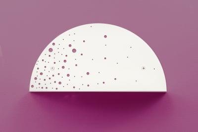Shell Side Shelf White