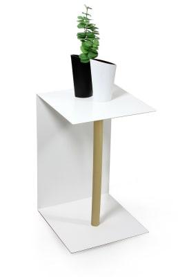 "Side table ""Beistelltisch C-01"" Oiled oak wood (= natural)"