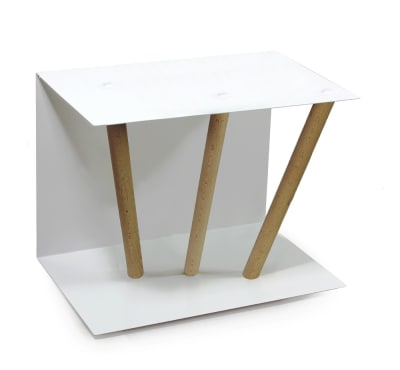 "Side table ""Beistelltisch C-03"" Oiled oak wood (= natural)"