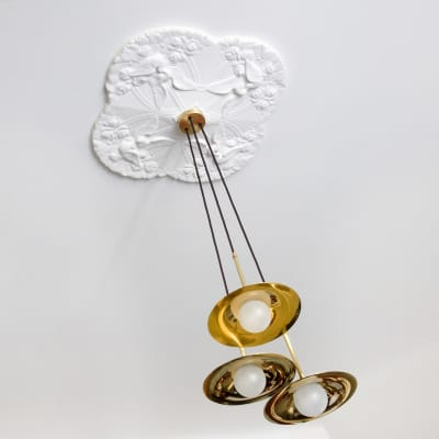 Solo Disc 3 Suspension Light Brass