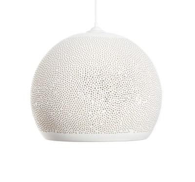 SpongeUp! Pendant Light White, 40 cm