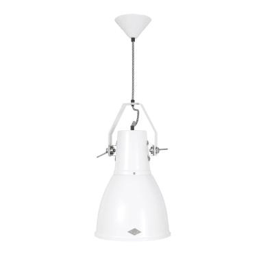 Stirrup  Pendant Light White, Large