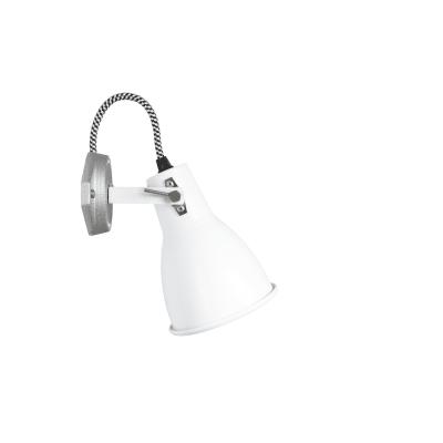 Stirrup  Single Wall Light White
