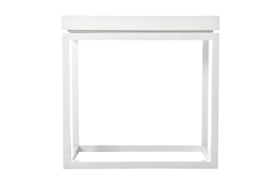 Theo Side Table White