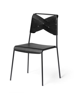 Torso Chair Black/black