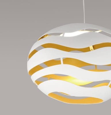 Tree Series Pendant Light S75, Black-Gold, Halo