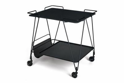 Matégot Trolley Gubi Metal Black
