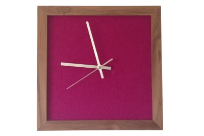 Tweed Wall Clock Betty