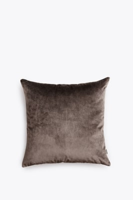 Velvet Cushion Grey