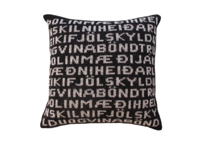 Virtue Cushion Cover Black