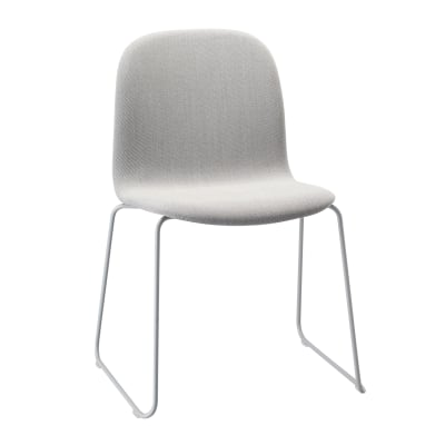 Visu Chair Sled Base Upholstered