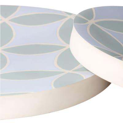 Wall Decor Plate Grey