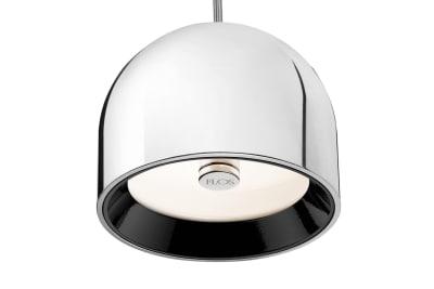 Wan S Pendant Light Shiny Aluminum