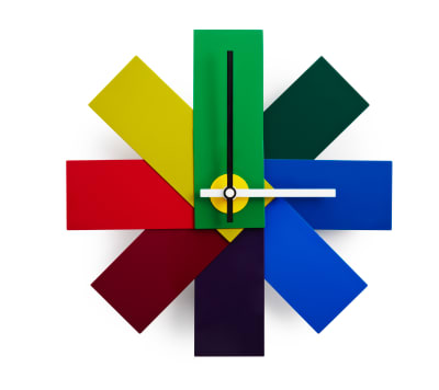 Watch Me Wall Clock Multicoloured