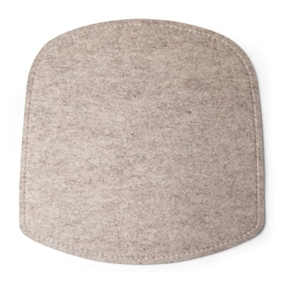 Wick Seat Cushion Beige felt