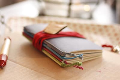 Wino Slim Notebooks - Pack of 4 Multicoloured