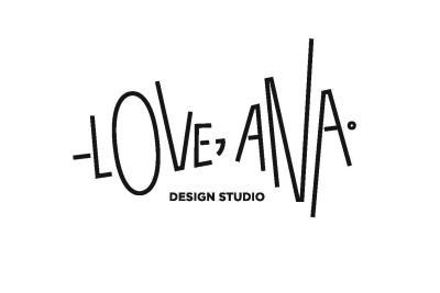 -Love, Ana. design studio logo
