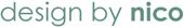 Design by Nico logo