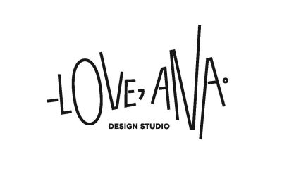 Love, Ana. design studio logo