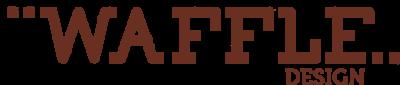 WAFFLE DESIGN  logo