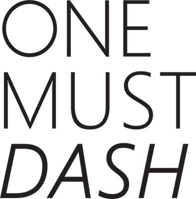 One Must Dash logo