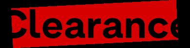 Clearance logo
