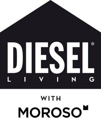 Diesel Living with Moroso logo