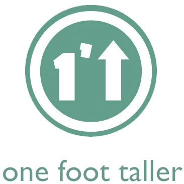 One Foot Taller logo