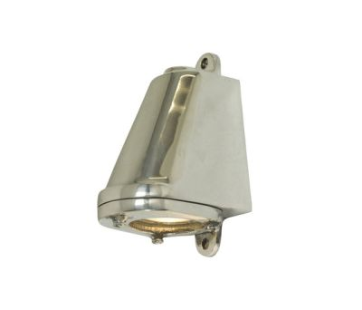 0749 Mast Light, Mains Voltage + LED lamp, Polished Aluminium by Davey Lighting Limited