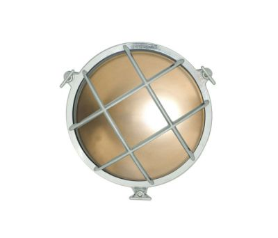 7027 Brass Bulkhead with Internal Fixing Points, Chrome Plated by Davey Lighting Limited